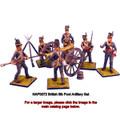 NAP0072 British 9lb Foot Artillery Set by First Legion