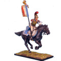 NAP0073 French 2nd Carabiniers Standard Bearer Charging by First Legion