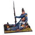NAP0119 Guard Chasseur Officer Holding Dying Chasseur by First Legion (RETIRED)