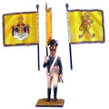 NAP0136 1st 'Prince Paul' Wurttemberg Line Infantry Standard Bearer by First Legion (RETIRED)