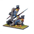 NAP0162 Prussian 11th Line Infantry Musketeers Falling Vignette by First Legion