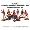 NAP0171A Russian 12lb Foot Artillery Set by First Legion (RETIRED)