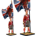 NAP0205 92nd Gordon Highlander Standard Bearer - Regimental Colors by First Legion (RETIRED)