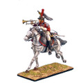NAP0242 French 5th Cuirassiers Trumpeter Charging by First Legion (RETIRED)