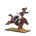 NAP0244 French 5th Cuirassier Trooper Thrown from Horse by First Legion