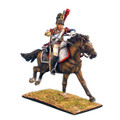 NAP0245 French 5th Cuirassier Trooper with Carbine Charging by First Legion RETIRED