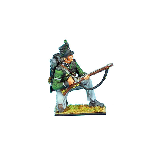 NAP0281 British 95th Rifles Kneeling Ready by First Legion