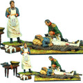 NAP0389 Napoleon, Marshal Lannes, Surgeon Larrey, and Accessories by First Legion