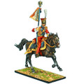 "NAP0420 2nd Dutch ""Red"" Lancers of the Imperial Guard Standard Bearer by First Legion"