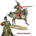 REN034 French Mounted Knight with Lance #2 by First Legion