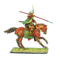 SAM023 Mounted Samurai Charging with Yari and Jinbaori - Takeda Clan by First Legion