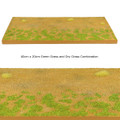 TER010c Modular Terrain Section with Green Grass and Dry Grass by First Legion (RETIRED)