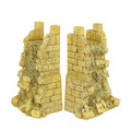 TER012 Damaged Wall Sections (2 pieces) by First Legion