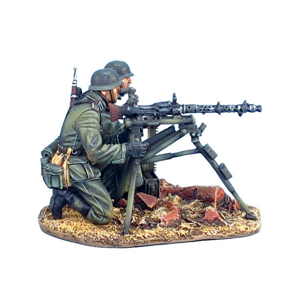 GERSTAL023 German MG34 Tripod Mounted Machine Gun Team by First Legion  (RETIRED)