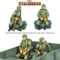 GERSTAL034 Seated German Infantry Set 2 by First Legion