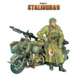 GERSTAL041 German BMW R75 Feldgendarme Motorcycle Combination - 16th Panzer Division by First Legion