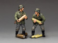 WS285 Coastal Gunners Set #2 by King and Country (RETIRED)