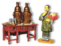 HK033  Chinese Tea Table and Lady by King & Country (Retired)