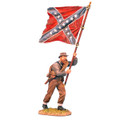 ACW003 Confederate Standard Bearer Advancing by First Legion (RETIRED)