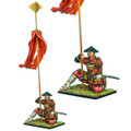 SAM033 Samurai Standard Bearer - Takeda Clan by First Legion
