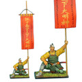 SAM035 Samurai Standard Bearer - Takeda Clan War Banner by First Legion