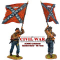ACW090 Confederate Standard Bearer - 5th Texas by First Legion