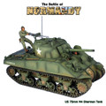 NOR047 US M4 75mm Sherman Tank - 2nd Armored Division by First Legion (RETIRED)