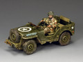 MG053 Airborne Jeep by King and Country (RETIRED)
