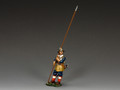 PnM004B Vertical Pikeman (Royalist) by King and Country
