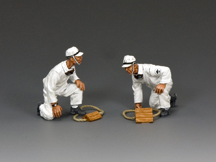 USN022 Deck Crew Set #2 by King and Country