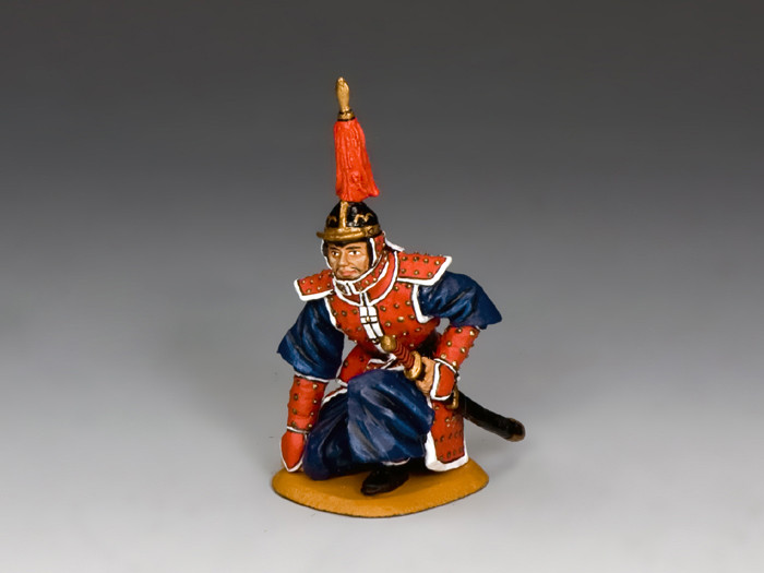 BBG090 Kneeling Officer by King and Country