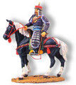 SR002C  Manchu Officer on Black Horse by King & Country (Retired)