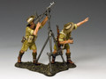 "EA097   ""Aussie Anti-Aircraft Bren Gun Team"" by King and Country (RETIRED)"