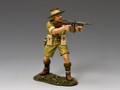 "EA098   ""Aussie Officer w/ Tommy Gun"" by King and Country (RETIRED)"