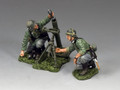 """WH017.""""Wehrmacht Mortar Team"""" by King and Country"""