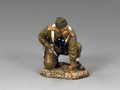 "DD257   ""Crouching Officer w/Pistol"" by King and Country"