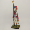 NAP029 4th Swiss Fusilier Standard Bearer by Cold Steel Miniatures