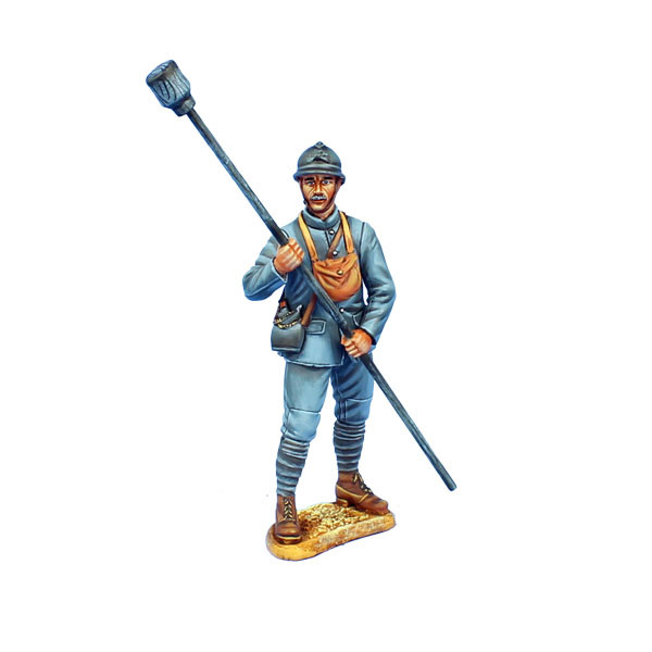 GW041 French Artillery Crew with Charge by First Legion