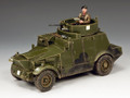 FOB118 Morris CS9 Armoured Car by King and Country (RETIRED)