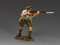 GA020(B)  Advancing Rifleman (Blue Shirt) by King and Country