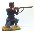 W1-1407  Belgian 10th Line Infantry Kneeling Firing No. 1 by Empire Military Min.