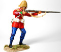 ZW-2000  24th Foot Private Standing Firing No. 1 by Empire Military Min.