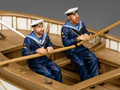GA015(B) Oarsmen Rowing (Bearded Sailors) by King and Country