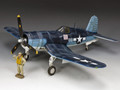 AF032  USMC F4U Corsair by King and Country (RETIRED)