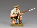 GA028  Kneeling Loading Rifleman, Gaillipoli 1915 by King and Country