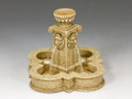 SP072 Four Lions Town Fountain (Sandstone) by King and Country