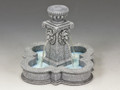 SP080  Four Lions Town Fountain (Greystone) by King and Country
