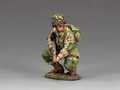 "DD286-1  ""US Paratrooper Crouching Tommy Gunner"" (82nd Airborne) by King and Country"