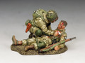 "DD287-2   ""US Paratroopers Blast Injury"" (101st Airborne) by King and Country"