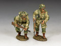 "DD288-2 'US Paratroopers Moving Forward ... Cautiously!"" (101st Airborne) by King and Country"